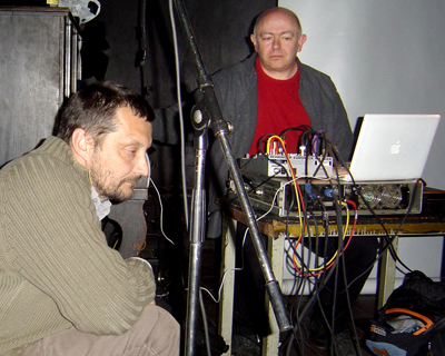 Martin Zet and Alan at Studio Rubin, Prague